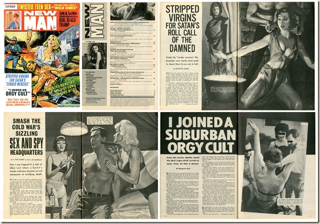 NEW MAN, October 1968 - Thumbnails