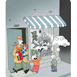 Anatolian Cartoonists Association Special Award: Hicabi Demirci (Turkey)