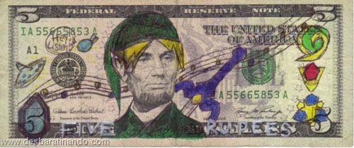 notas cédulas dollar geek nerd zoada desbaratinando  (16)