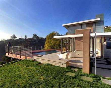 casa-con-piscina-Evans-House
