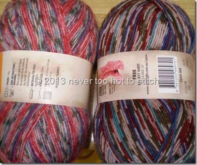 2013-01-26  sock yarn
