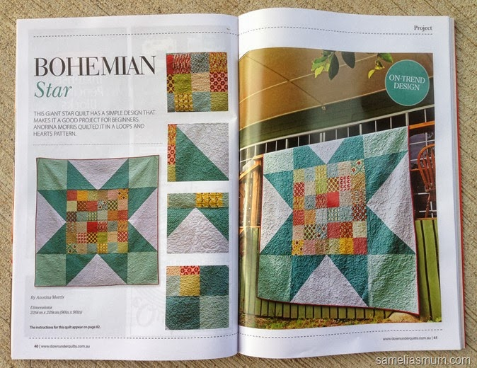 Bohemian Star Quilt - DUQ October 2013