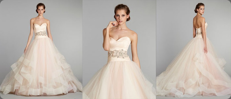 wedding dress lazaro-bridal-tulle-ball-gown-sweetheart-satin-organza-floral-jewel-natural-waist-horsehair-chapel-train-3250_x1 in sherbet