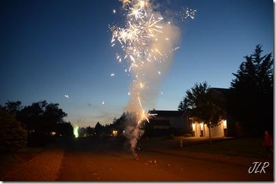 FireworksInRoad