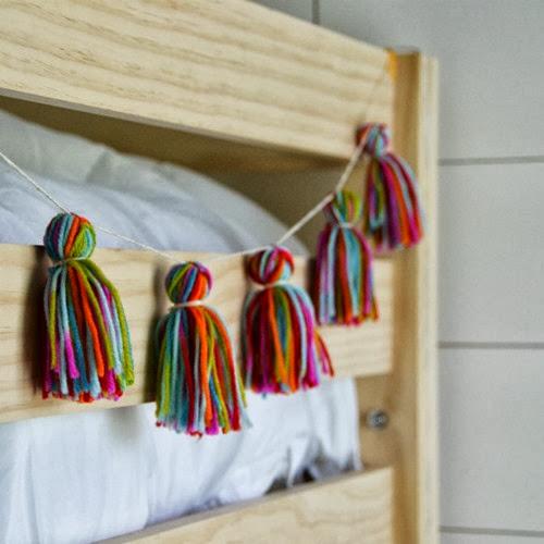 yarn-tassle