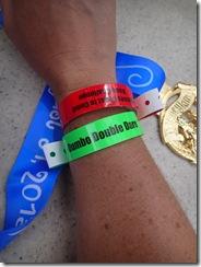 Disneyland 10K Wrist Bands