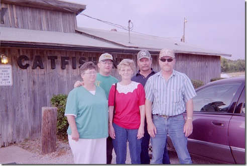 Mary,Wally,Sheila, Chris & Orvile