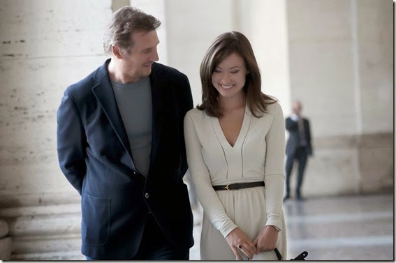 LIAM NEESON AND OLIVIA WILDE