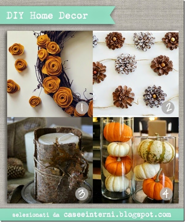 case e interni - DIY - tutorial autunno decorazioni