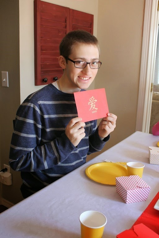 Chinese red envelope for New Years