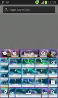 Screenshot of Color Bubbles Keyboard