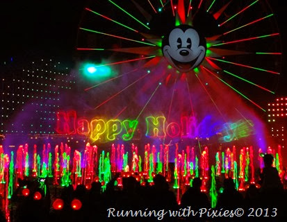 Happy Holidays from World of Color-Winter Dreams