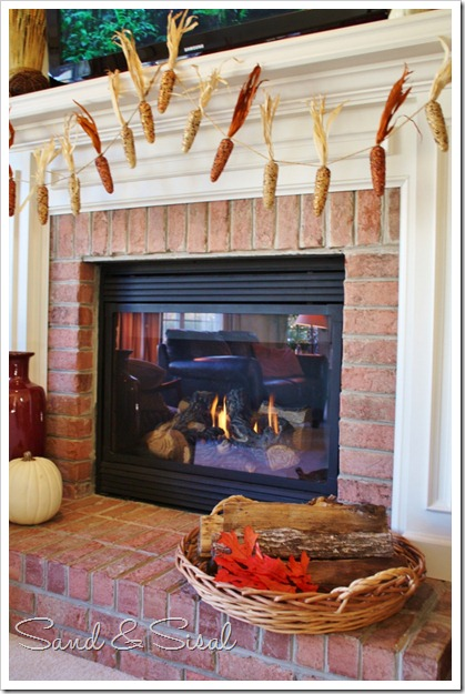 Hearth & fireplace with corn garland (683x1024)