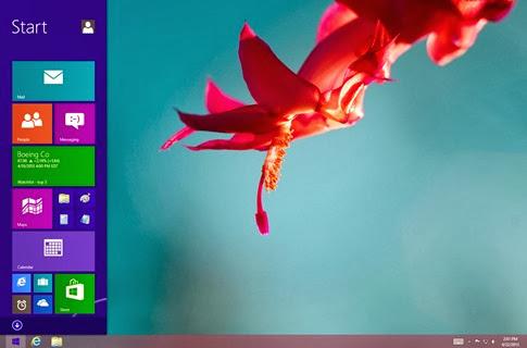 Windows 8.1 - botón Inicio