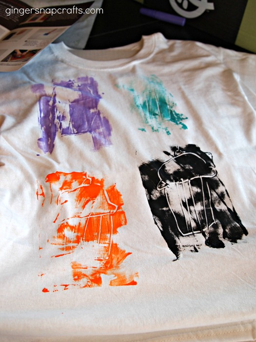 babba box t-shirt painting