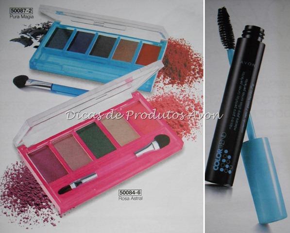 Maquiagem Color trend
