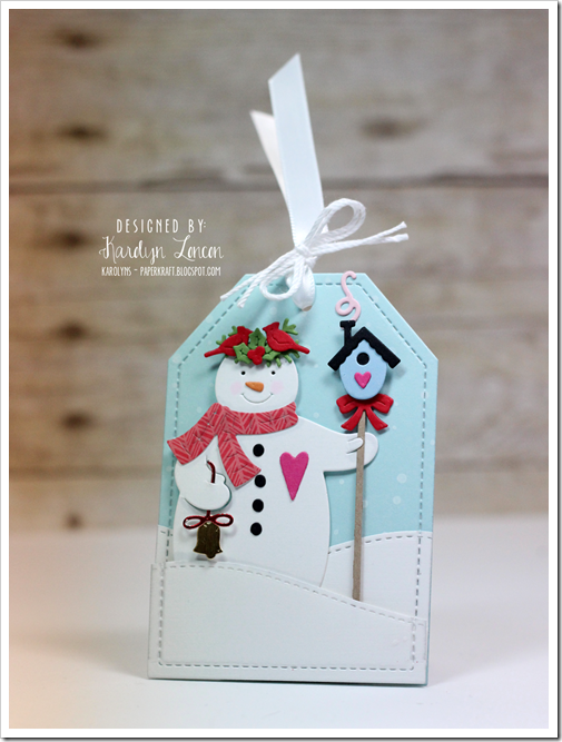 Karolyn Loncon 25 Days of Christmas Tags 2