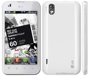LG Optimus White Specifications, features and Price