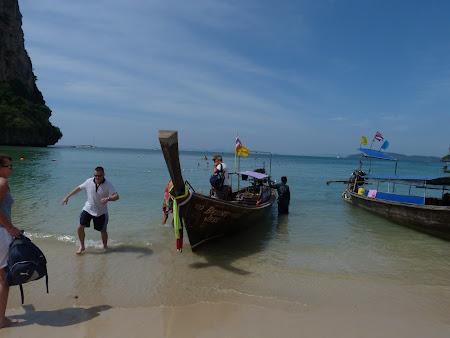 Obiective turistice Thailanda: Railay West Beach
