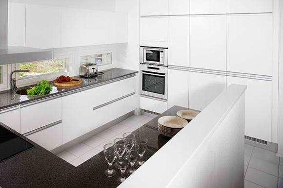 15 diseños de cocinas blancas   idecorar