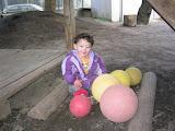 Eidan in the playground at Kai's Kindergarten (Takanawa Yochien)