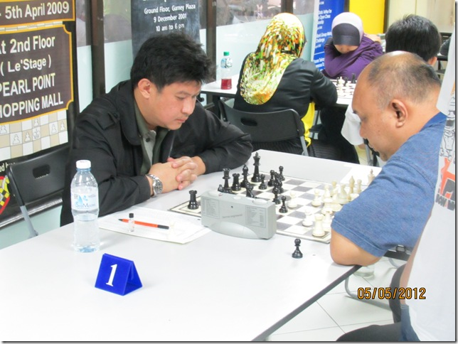 Nolte vs Kamaluddin, Round 7, Top Board
