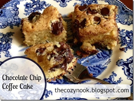 Chocolate Chip Coffee Cake - The Cozy Nook
