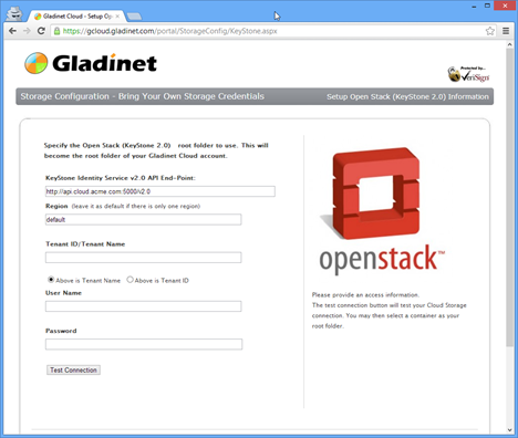 Gladinet Cloud - Setup OpenStack (KeyStone) Storage Account - Google Chrome_2012-10-03_13-23-36