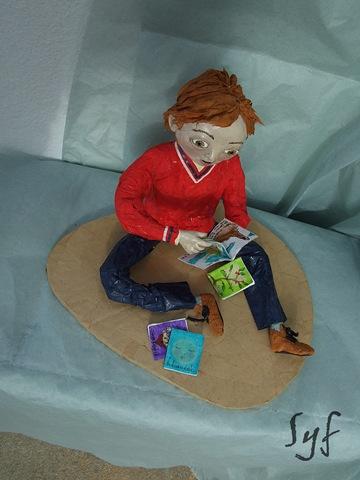 muñeco papel mache 19