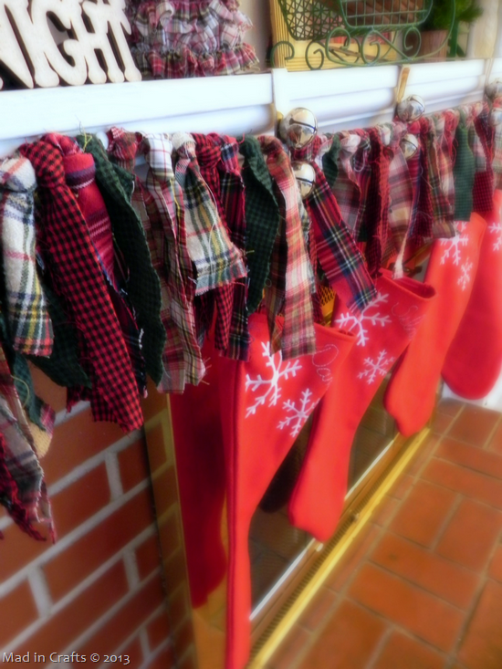 plaid garland
