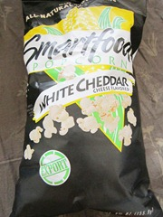 smartfood popcorn white cheddar, 240baon