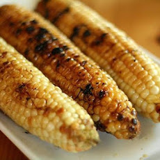 Grilled Corn on the Cob with Maple-Chipotle Glaze