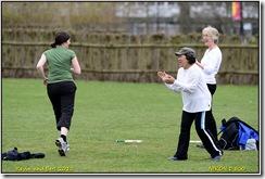 Warwick University - Playing Rounders.