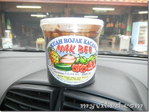 Kuah Rojak Kacang Mak Bee