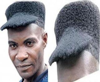 Fesyen rambut cap