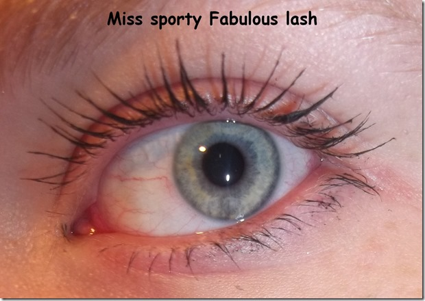 Miss sporty Fabulous lash