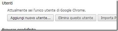 Chrome aggiungi nuovo utente