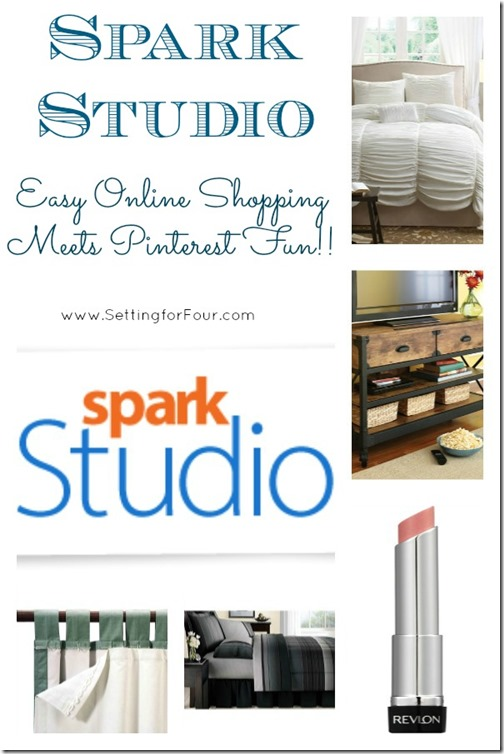 Spark Studio makes Online Shopping Fun with Pinterest from Setting for Four