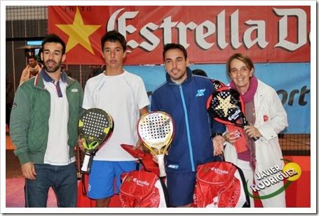 González-Redondo Campeones Circuito Estrella Damm FMP Rivas Vaciamadrid 2013.