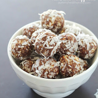 Healthy Date Nut Balls Recipes