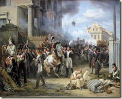 Horace Vernet : Mortier à La Barrière de Clichy en 1814