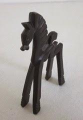 Don Manning black horse above
