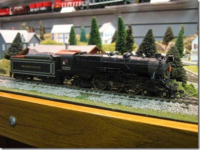IMG_5584 HO-Scale Pennsylvania K4 4-6-2 by MTH at the WGH Show in Portland, OR on February 18, 2007