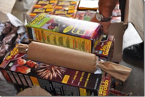 foguetes de fim de ano