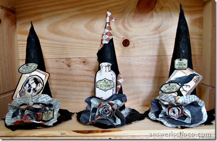 Vintagey Witch Hats