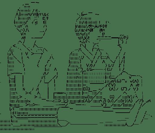碇シンジと綾波レイ(エヴァンゲリオン)
