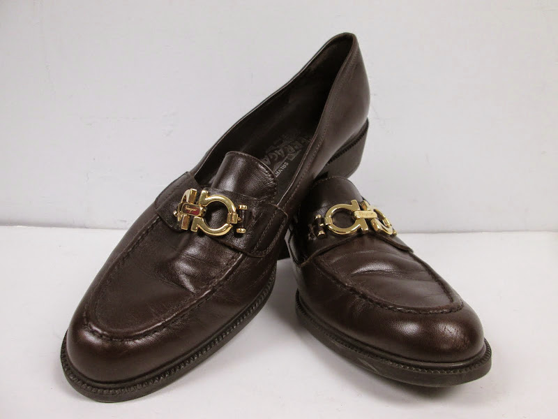 Salvatore Ferragamo Brown Loafers