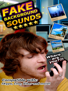 Fake Background Sounds- screenshot thumbnail