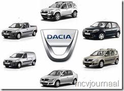 Dacia Logo en modellen