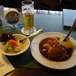 pork hox at weihenstephan brewery in Freising, Bayern, Germany